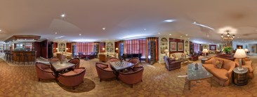 Lounge at the Crowne Plaza located in Syracuse, NY