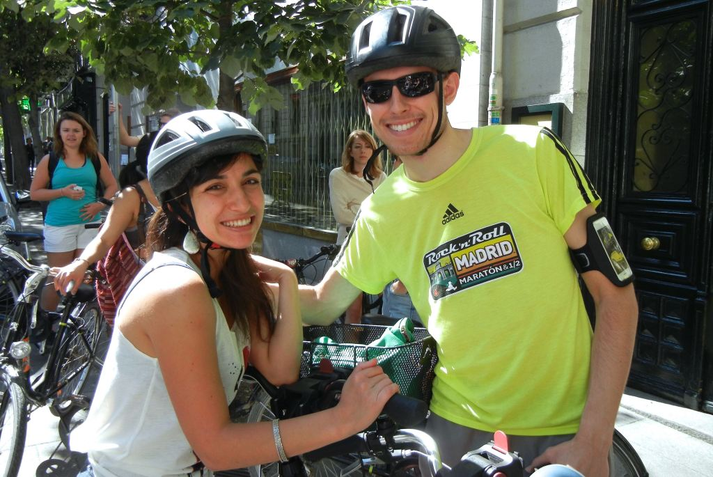 Cycling in Madrid Outing
