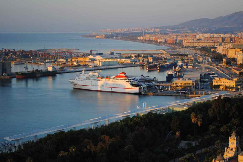 Malaga Port Zoom-in
