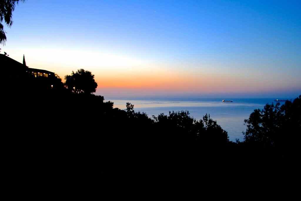 Sunrise on Mediterranean