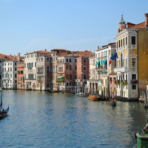 Venice canal cover shot