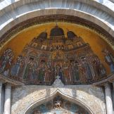 Venice cathedral mosaic