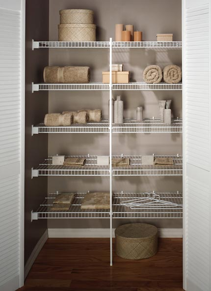 Cabinet Cupboard Linen Closet | Wire Shelving | Orange County, Ny | Rylex
