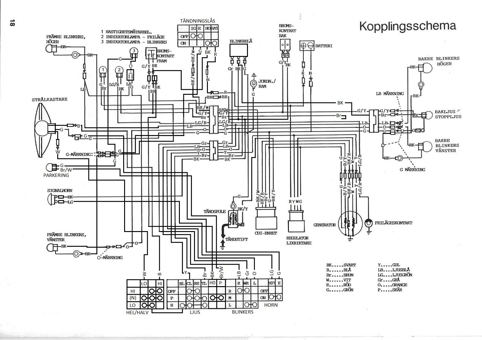 simple points and condenser wiring diagram