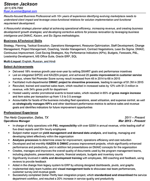Sample Resumes-and-CV- Ryno Resumes - images of resumes
