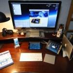 [Mac] Thunderbolt Displayの設置と書斎の片付け