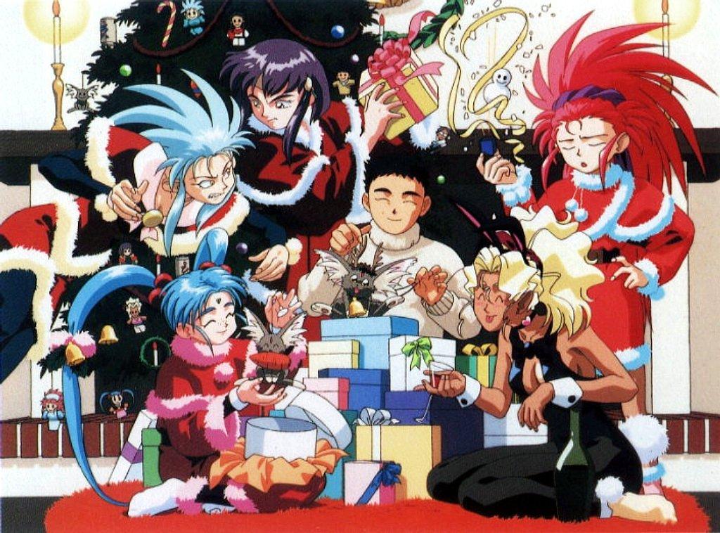 Wallpaper Hd Boy And Girl Merry Christmas Ryo Ohki S Anime Loft