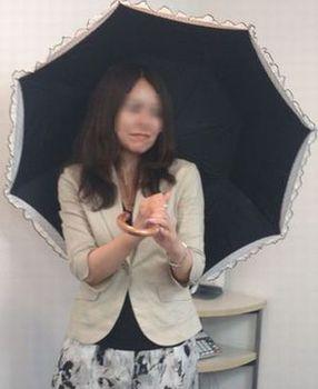 傘開いた上体 ぼかしアリ