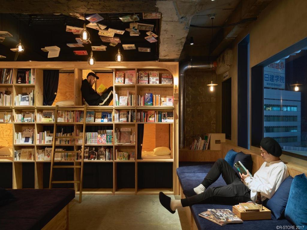 Bücherregal Japanisch Hostel Book And Bed Tokyo Ikebukuro Japan Tokio Booking