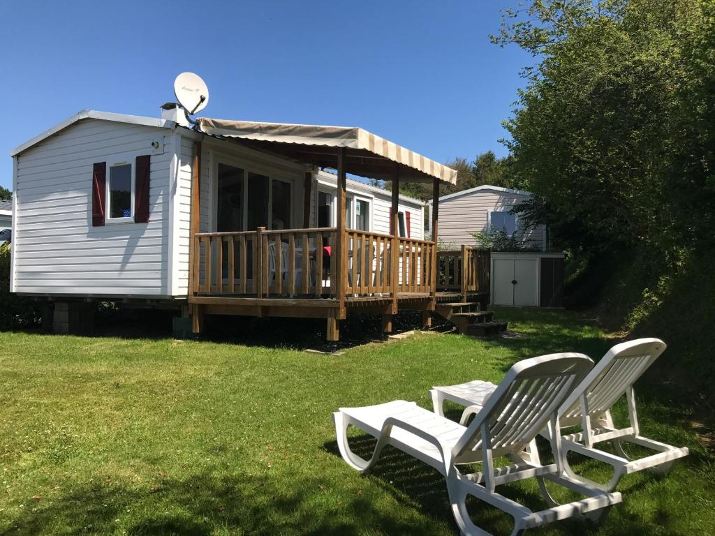 Terrasse Mobil Home Pas Cher Mobil Home Domaine De Litteau Litteau Updated 2019 Prices