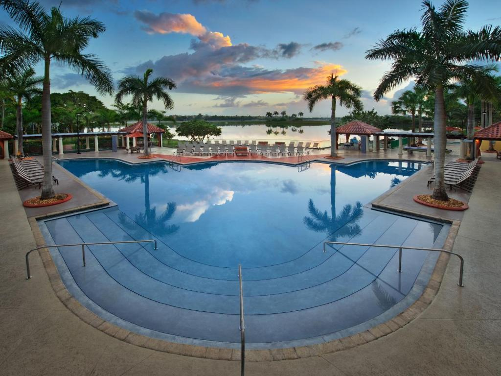 Miami Zwembad Marriott Villas At Doral Vs Miami Booking