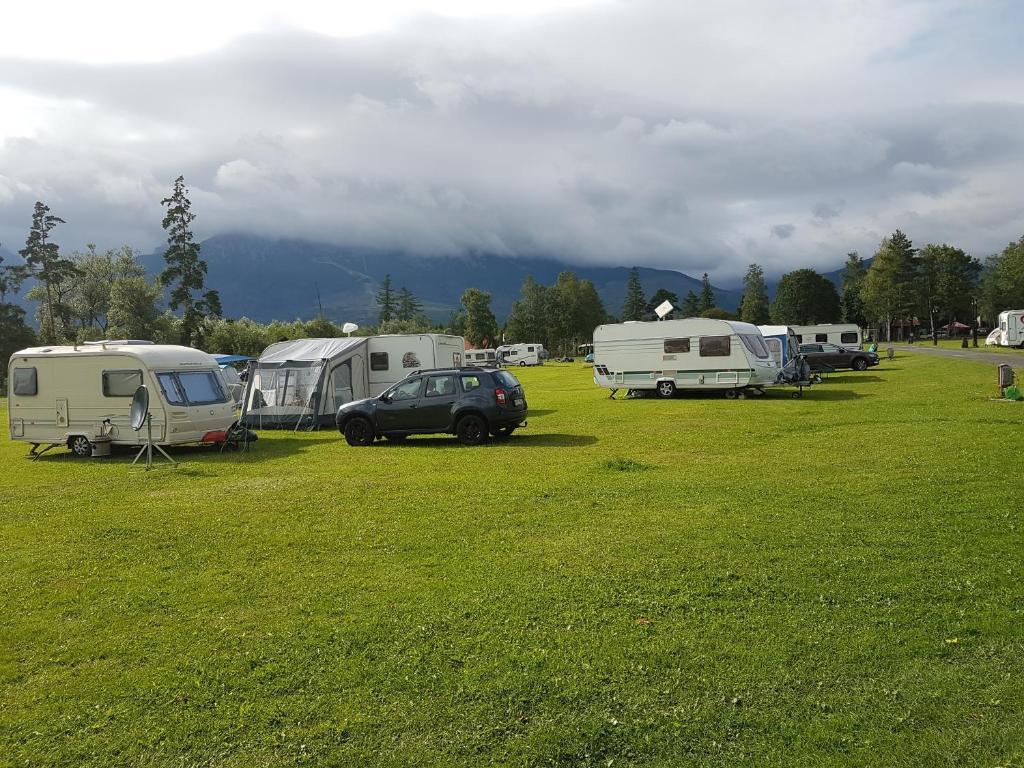 Camping Slowakije Zwembad Camping Intercamp Tatranec Slowakije Tatranská Lomnica Booking
