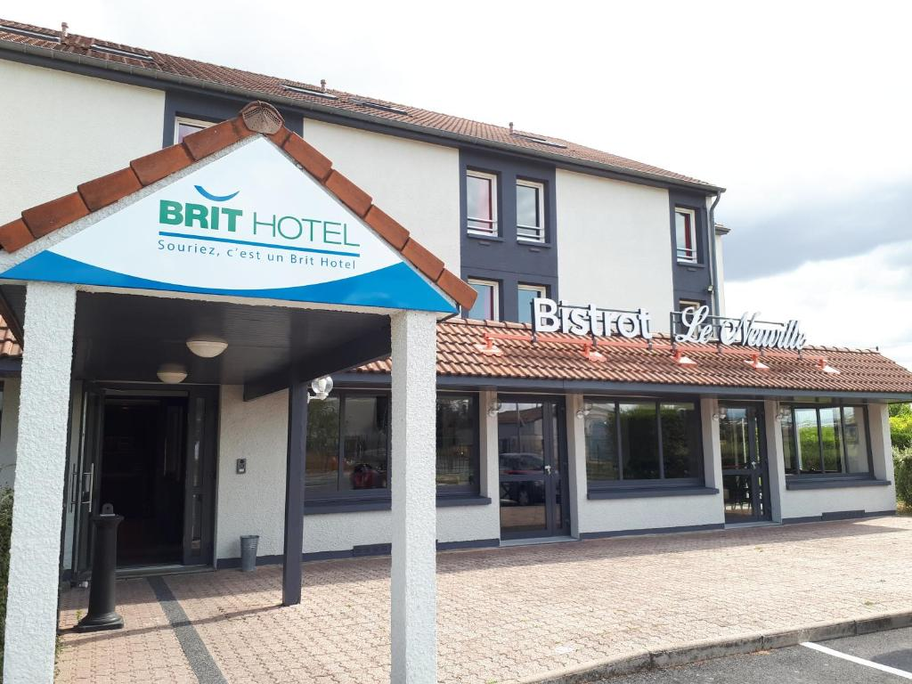 Bv Reims Brit Hotel Reims La Neuvillette Frankreich Reims Booking