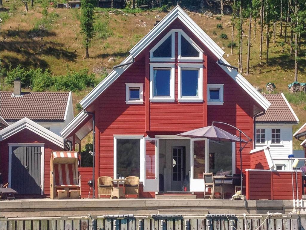 /home Holiday Home Fister With Fireplace Ii Norwegen Fister Booking