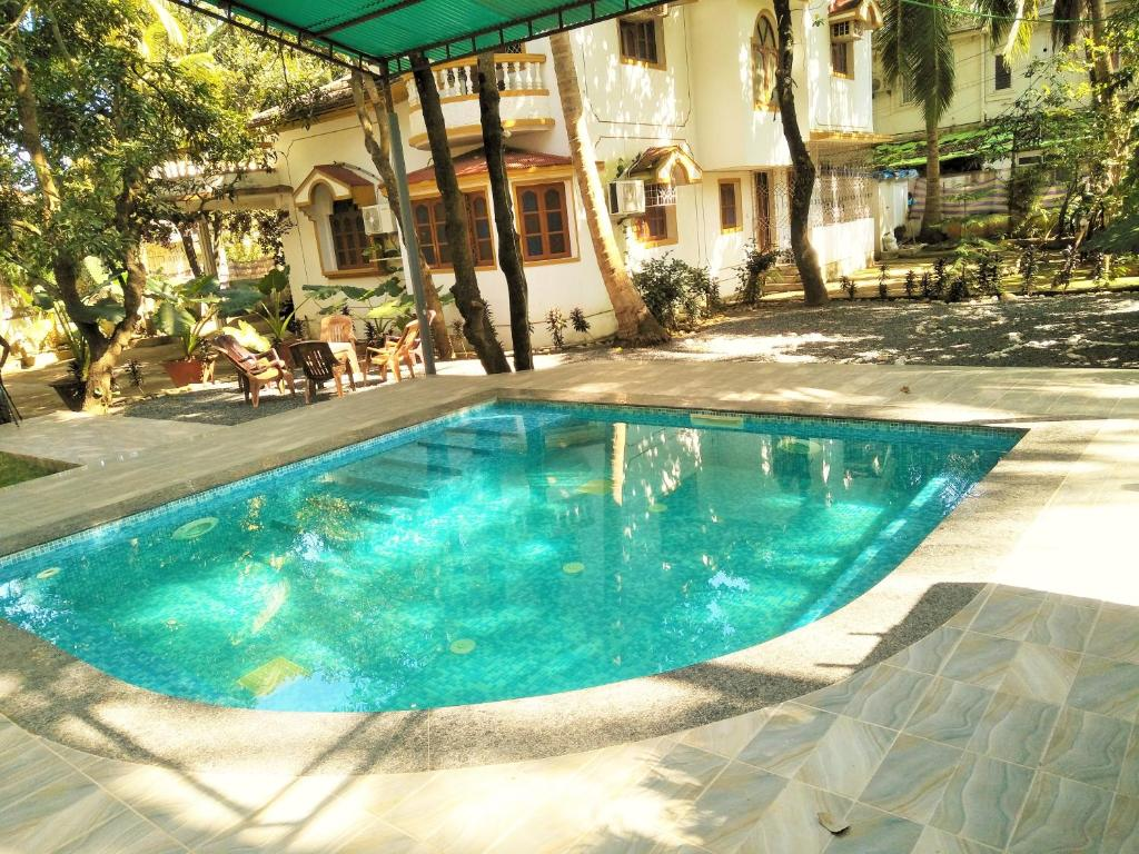 Jacuzzi Pool India The 4bhk Duplex Private Villa With Outdoor Jacuzzi Baga India