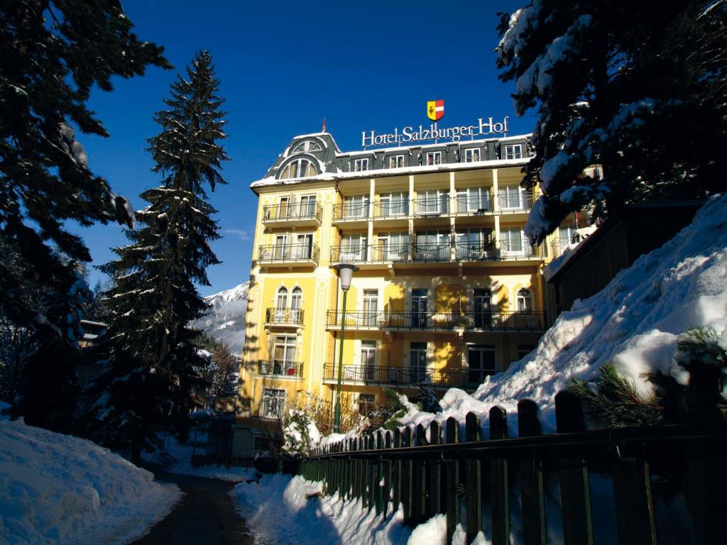 Hotel Salzburger Hof Bad Gastein Austria Booking Com - Bad Gastein
