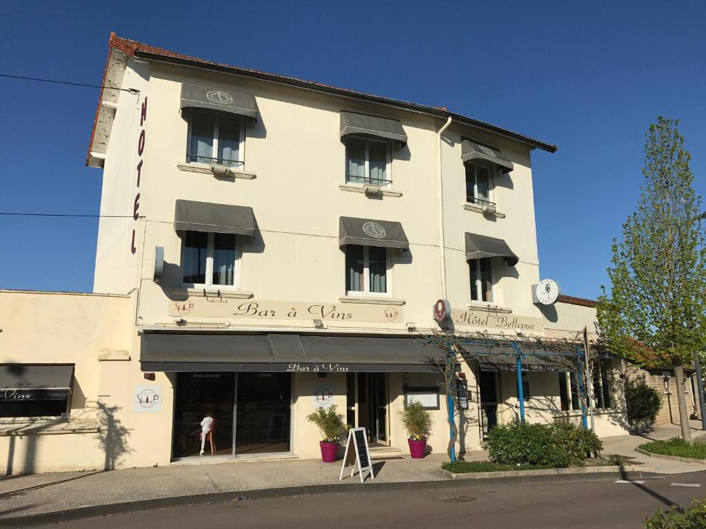 Beaune Hotel Hôtel Bellevue Beaune France Booking