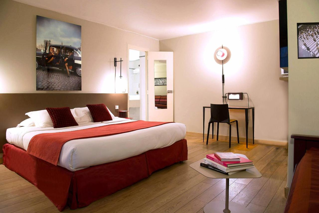 Wallpaper Kamar Paris Hotel Tilsitt Etoile Paris France Booking