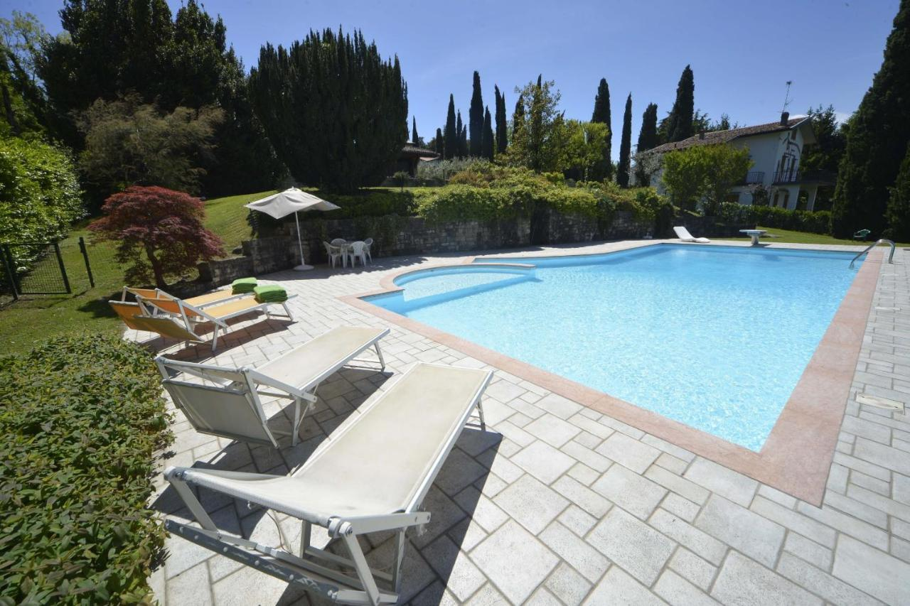 Gardasee Ferienhaus Mit Pool Privat Villa Portesina Lakefront Villa With Private Pool And Garden