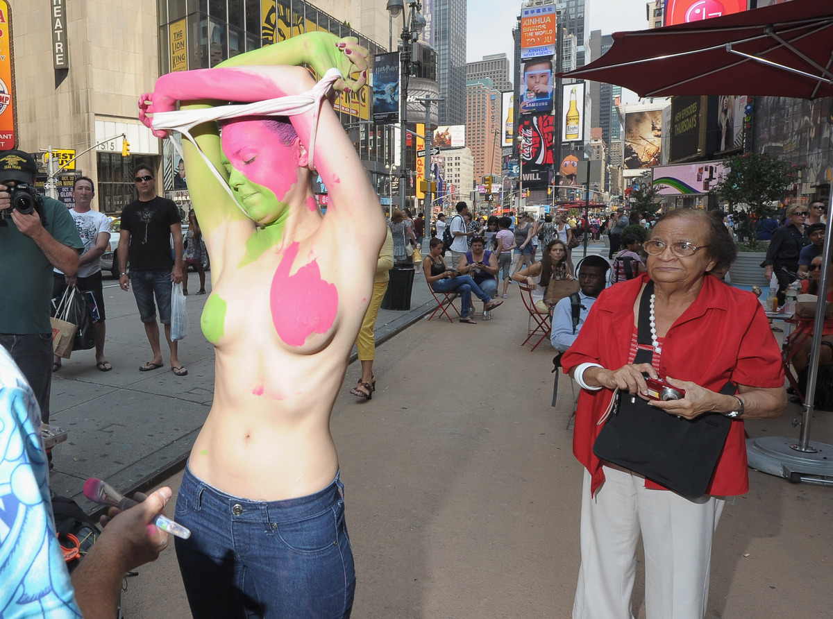 Tivoli Ny Street Painting Festival 12 Reasons To Love Nudity And Celebrate Nyc Bodypainting