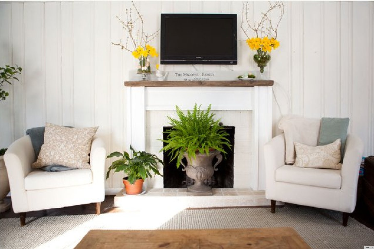 How To Decorate Fireplace Wall 10 Ways To Decorate Your Fireplace In The Summer Since