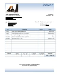 Daughter Sends Dad Amazing Invoice After Fixing His ...