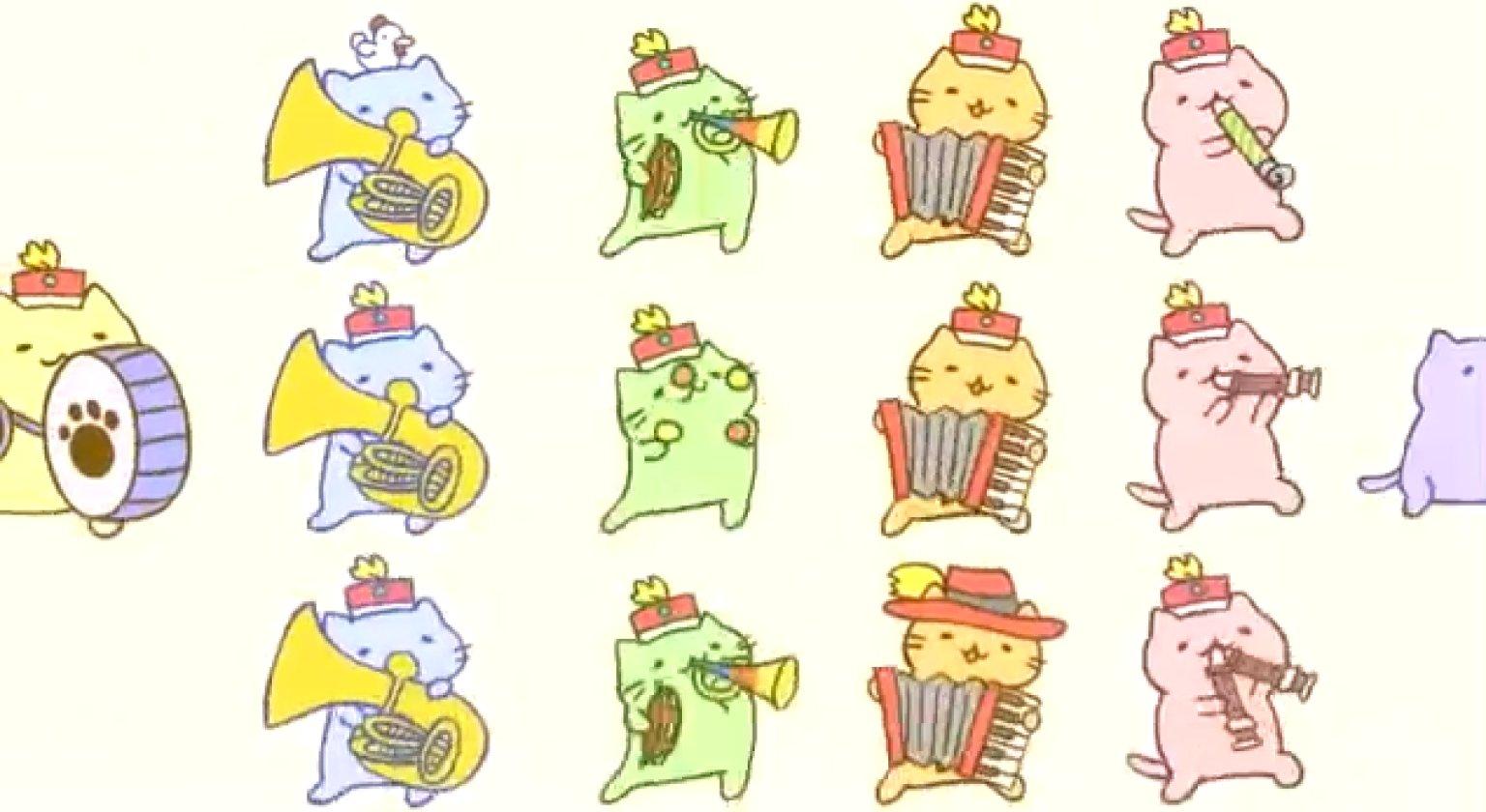 Cute Japanese Cat Wallpaper Mitchiri Neko Cat March The Most Delightful Thing You