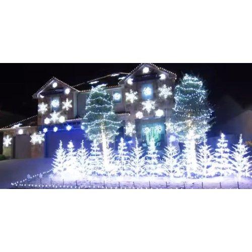 Medium Crop Of White Laser Christmas Lights