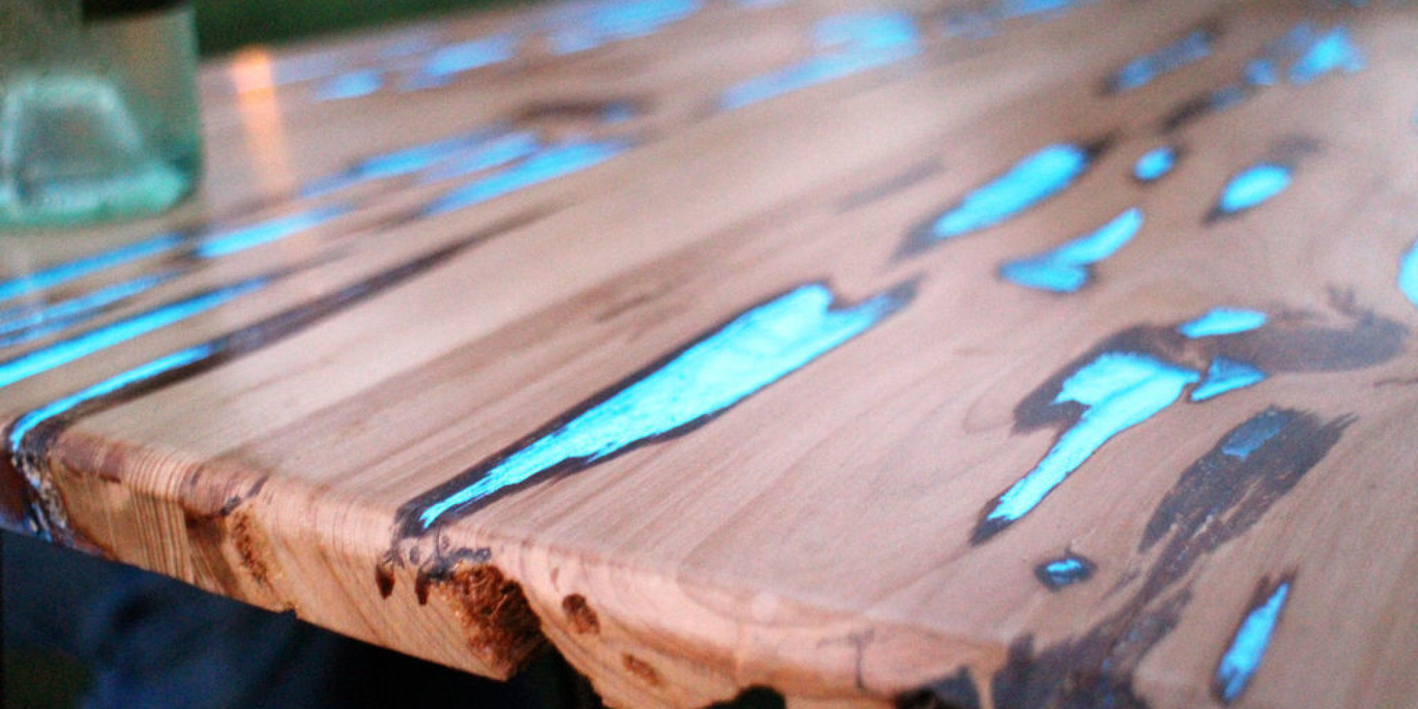 Esstisch Industrial Glow-in-the-dark Table Will Make You Want To Get Your Diy