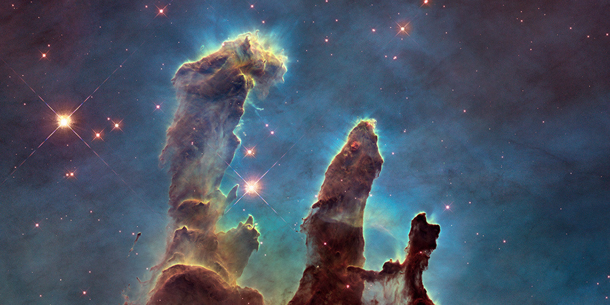 Cout Creation Sci Familiale Gorgeous 39pillars Of Creation 39 Shine In New Hi Def Hubble