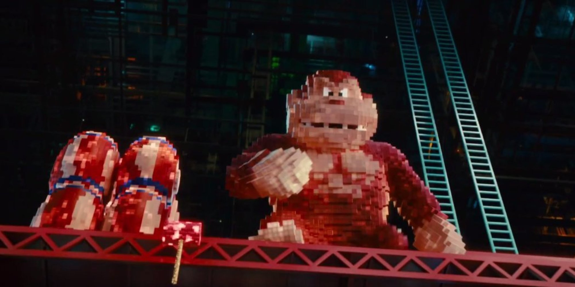 Alone 3d Wallpaper Pac Man And Donkey Kong Are Out For Blood In The First