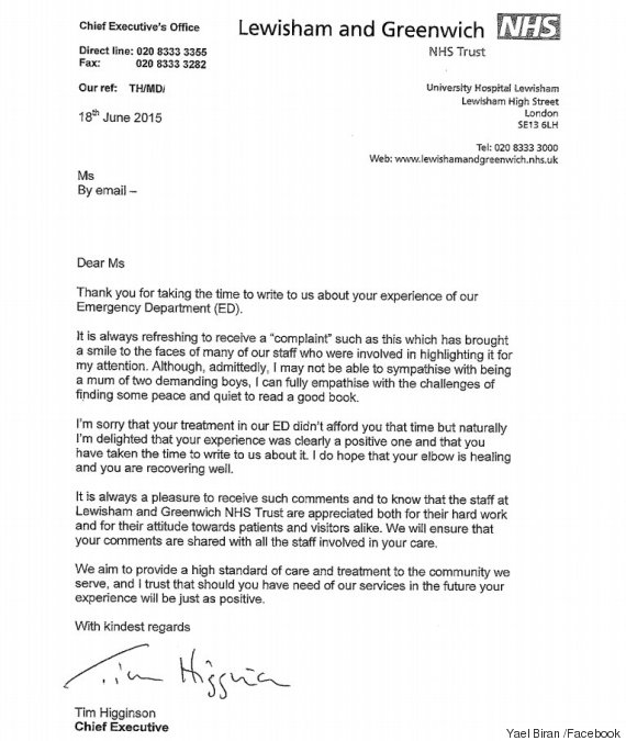 compliant letter - Alannoscrapleftbehind - complaints letter template