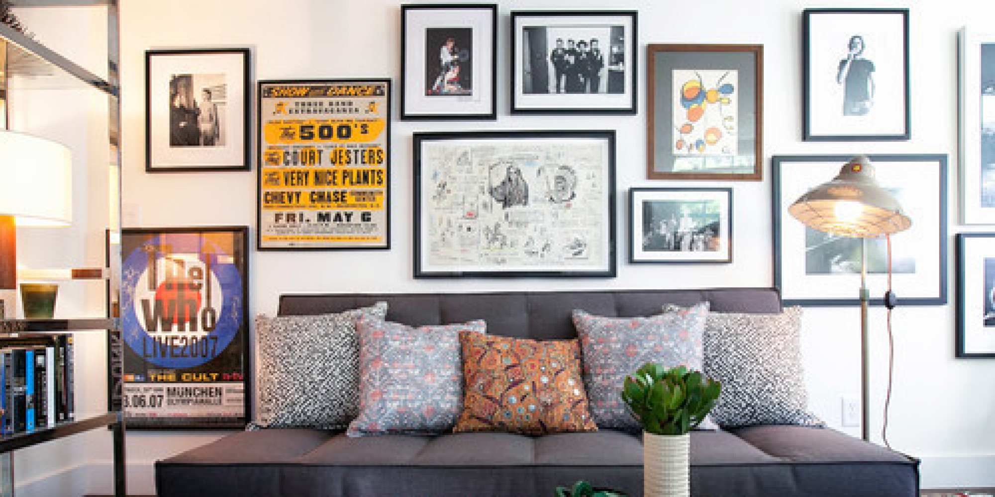 Pictures On The Wall How To Create The Perfect Gallery Wall Huffpost
