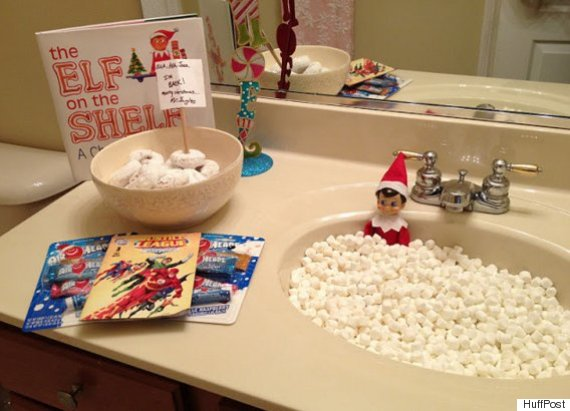 What Is Elf On The Shelf 15 Ideas For The First Day Arrival Huffpost Uk