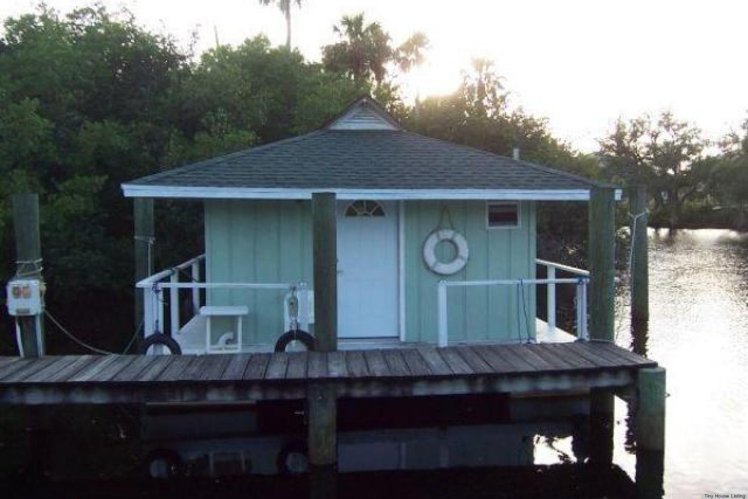 Pristine Huffpost Floating Bungalow Sale Offers Exotic Tiny Home Living America Tiny Houses Builders Floating Bungalow Florida Tiny Houses Sale Offers Exotic Tiny Home Living Tampa Florida curbed Tiny Houses In Florida