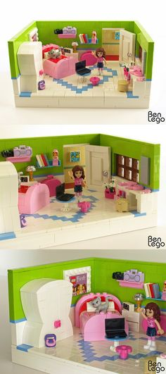 Lego Friends Slaapkamer The Lego Friends Table We Made! | Lego | Pinterest | Lego