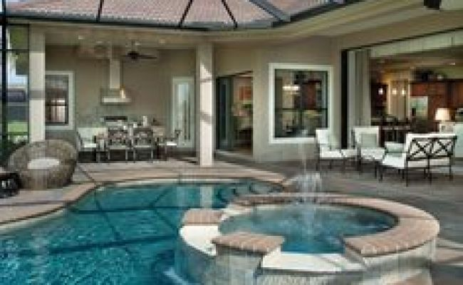 Florida Lanai Ideas On Pinterest  Stone Facade, Outdoor Kitchens And