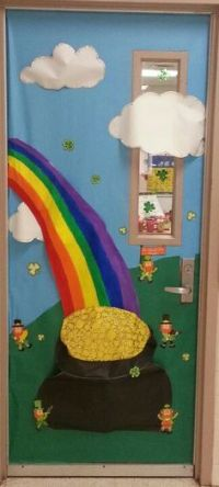 St. Patrick's day door!