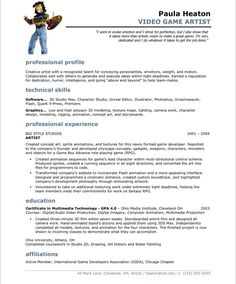 Cover Letter Examples Video Game Industry   Create professional