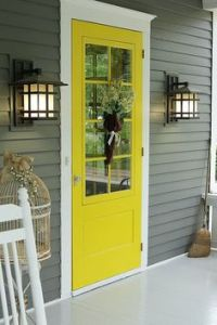 1000+ ideas about Yellow Front Doors on Pinterest | Front ...