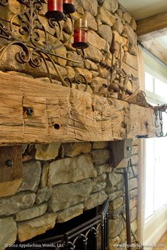 Mantels On Pinterest Mantels Beams And Rustic Living Rooms