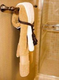 House Staging on Pinterest | Bathroom Towel Display ...
