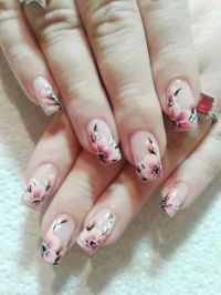 1000+ ideas about Cherry Blossom Nails on Pinterest ...