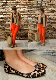 Orange Pants - Thass