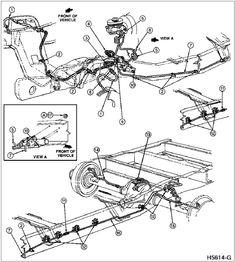 1996 ford f 350 diesel brake diagrams