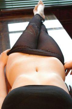 homemade lingerie selfie
