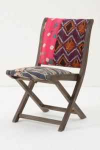 Really great folding chairs from Anthropologie! | Decor ...
