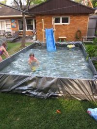 1000+ images about Giant DIY Backyard Paddling Pool on ...