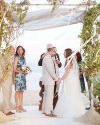 Unique Wedding Chuppah Idea, Purple & White (Huppah ...