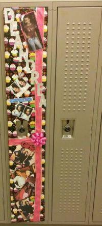 Locker door for birthday | Door Decorations | Pinterest ...